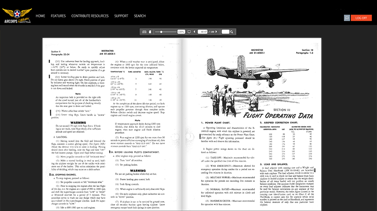 Manuals, Tech Orders & Resources to Preserve & Keep WWII Aircraft Safely Flying through the 21st Century