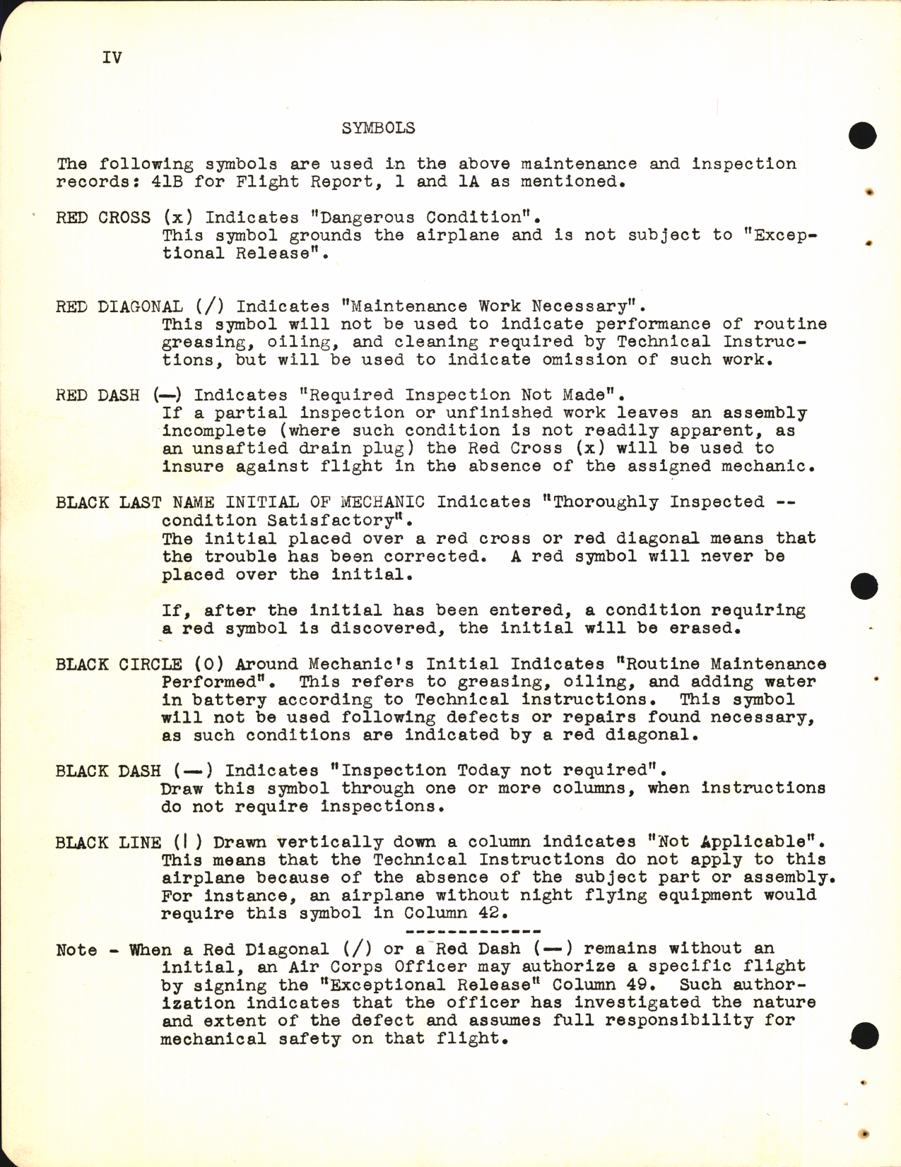 Sample page 4 from AirCorps Library document: Flying Fortress School - Inspections for B-17F Aircraft