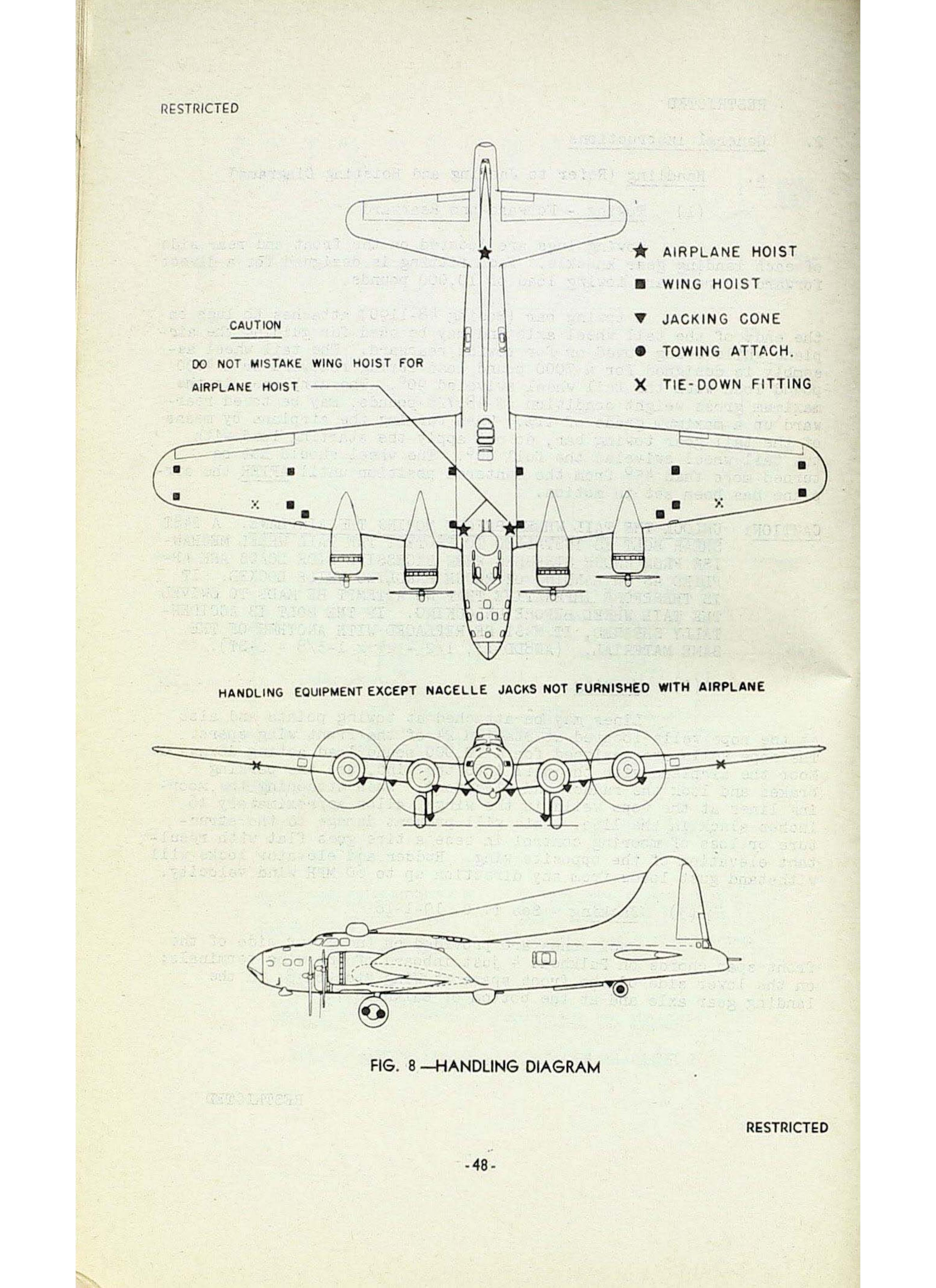 Sample page  48 from AirCorps Library document: Boeing B-17F Maintenance Familiarization Manual
