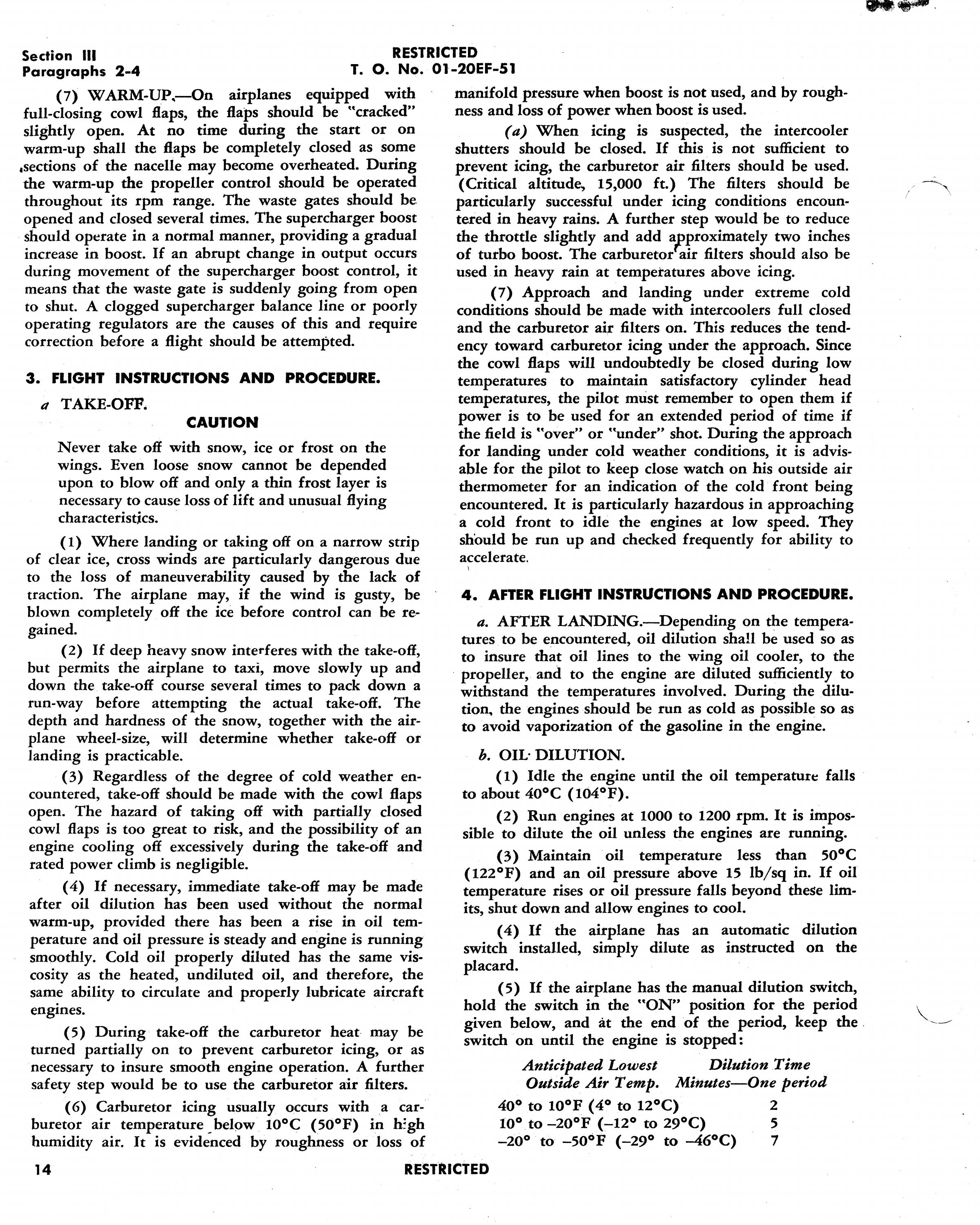 Sample page 18 from AirCorps Library document: Handbook of Cold Weather Operations & Maintenance - B17F, B-17G