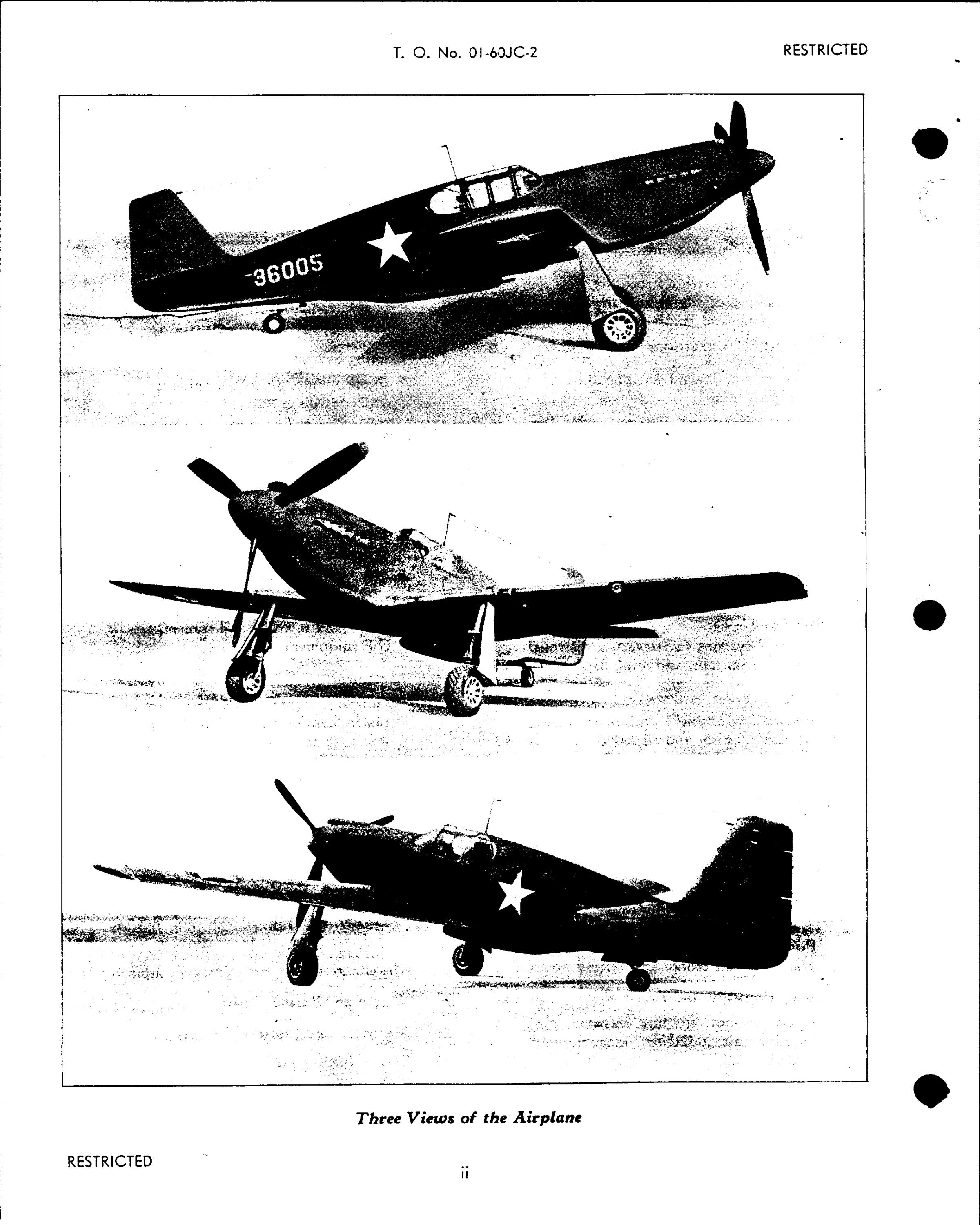 Sample page 4 from AirCorps Library document: Erection and Maintenance Instructions for P-51A Series