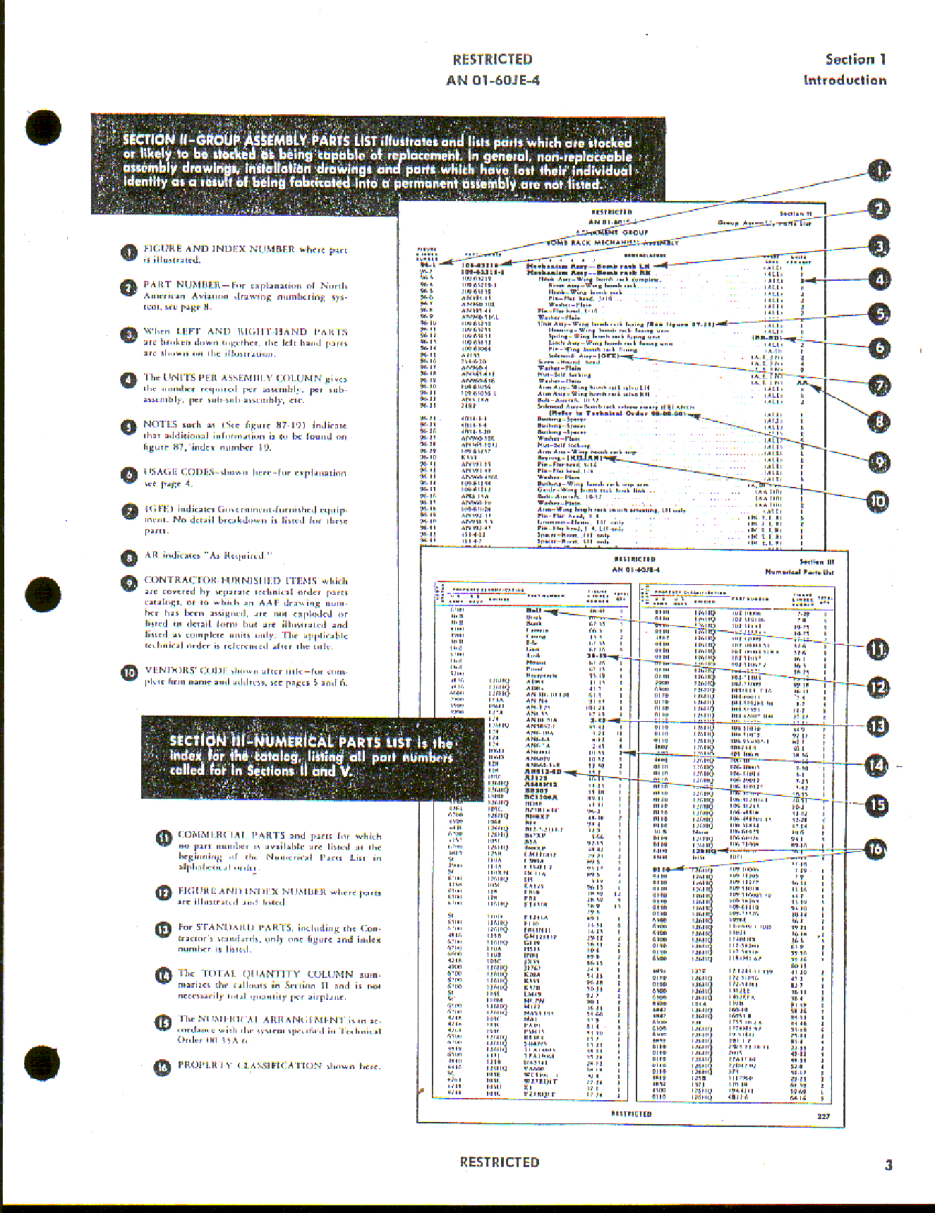 Sample page 5 from AirCorps Library document: Parts Catalog for P-51D and P-51K Aircraft