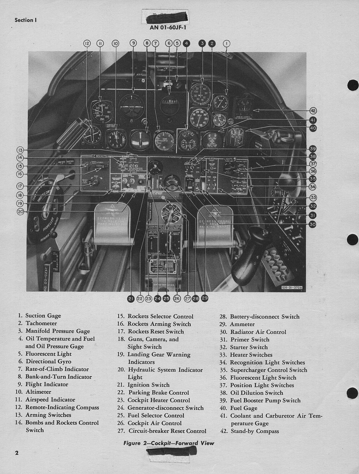 Sample page 6 from AirCorps Library document: Pilot's Handbook for P-51H-1, -5, and -10 Airplanes