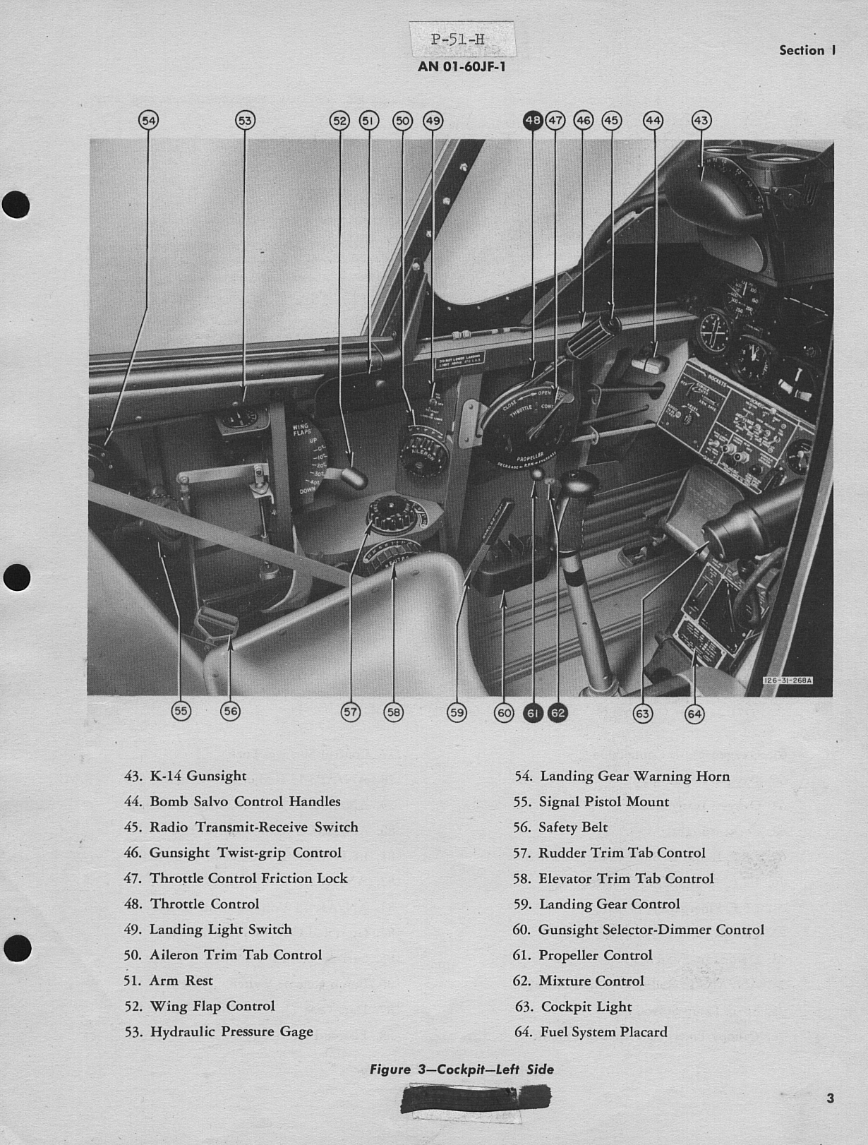 Sample page 7 from AirCorps Library document: Pilot's Handbook for P-51H-1, -5, and -10 Airplanes