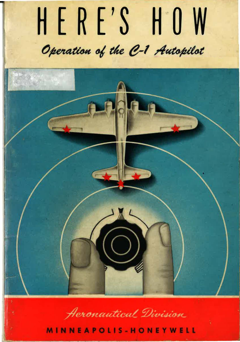 Sample page 1 from AirCorps Library document: Operation of the C-1 Autopilot