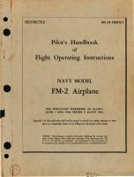 Pilots Flight Operating Instructions - FM-2 Wildcat