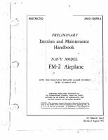 Wildcat FM-2 - Preliminary Erection & Maintenance Handbook