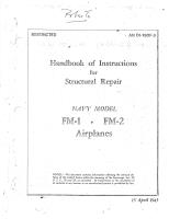 Structural Repair - Handbook of Instructions - Wildcat FM-1 & FM-2