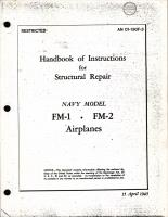 Handbook of Instructions for Structural Repair for FM-1 and FM-2 Wildcat