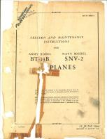 Erection and Maintenance Instructions for BT-13B and SNV-2 Airplanes
