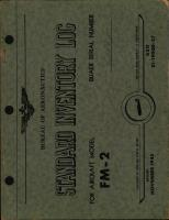 Bureau of Aeronautics Standard Inventory Log, FM-2 Wildcat