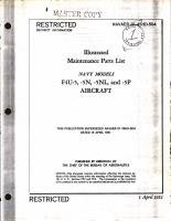 Illustrated Maintenance Parts List for F4U-5, -5N, -5NL and -5P Aircraft